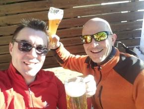 Kapellmeister & Obmann auf (Schi)Tour