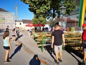 Markfest 2019 - Aufbau